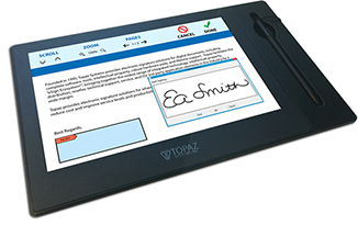 Electronic Signature Tablet Displays