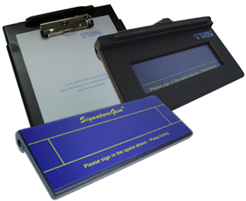 Electronic-Signature Pads