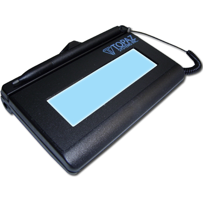 SignatureGem Backlit LCD 1x5 BSB (Virtual Serial)